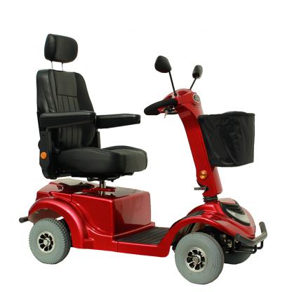 el scooter 4 hjulet