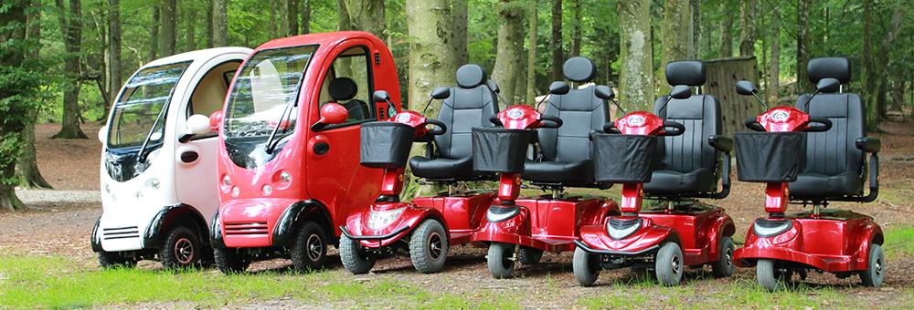 Larsen Mobility | Fremvisning af el scooter