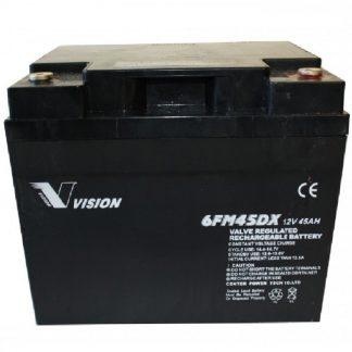 Batteri 12v 45ah til elscooter