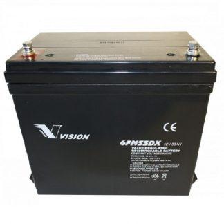 Batteri 12v 55ah