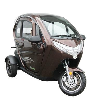 E-Force kabinescooter i brun