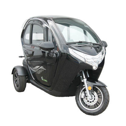 E-Force kabinescooter i sort