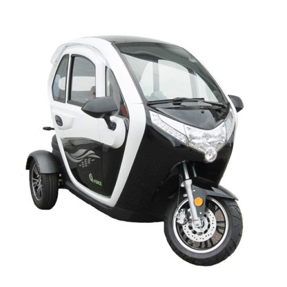 E-Force kabinescooter I sort-hvid
